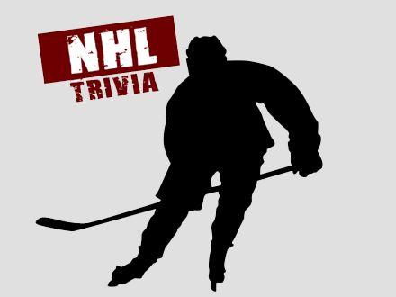 NHL Trivia